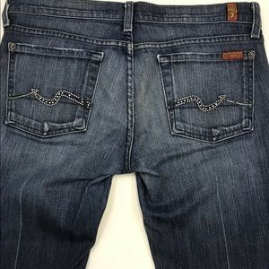 7 For All Man Kind Size 28 Bootcut Dark Wash
